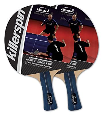 Killerspin Jet Set 2-pack Table Tennis Racket Set by Killerspin