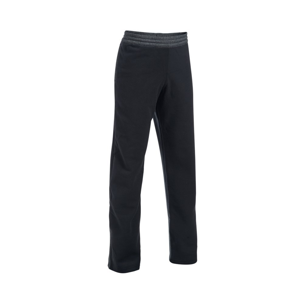 Under Armour Boys' Infrared Pants, Black, Youth X-Small