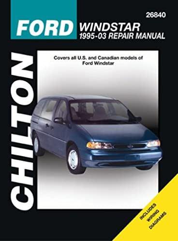 ford windstar 1995 through 2003 chilton s total car care repair rh amazon com 95 ford windstar owners manual 1995 Ford Windstar GL Minivan