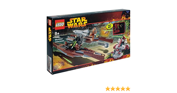 LEGO Star Wars RedBrown Tile 6179 set 7260 Wookiee Catamaran