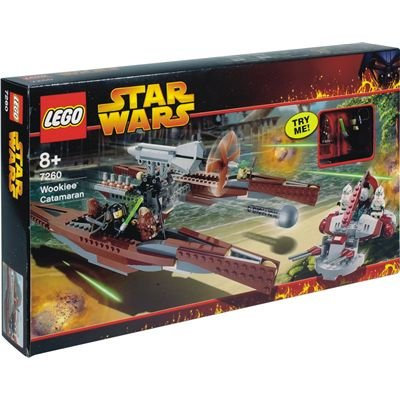 Amazoncom Lego Star Wars Set 7260 Episode Iii Wookie Catamaran