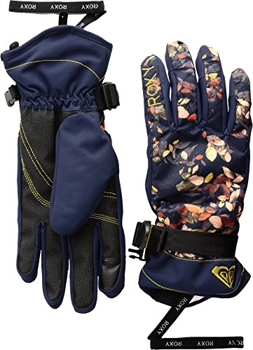 Roxy SNOW Women's Junior Roxy Jetty Gloves Accessory, -PEACOAT_WATERLEAF, S