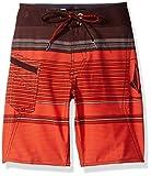 Volcom Big Boys' Lido Liner Mod Boardshort, Fiesta Red, 28