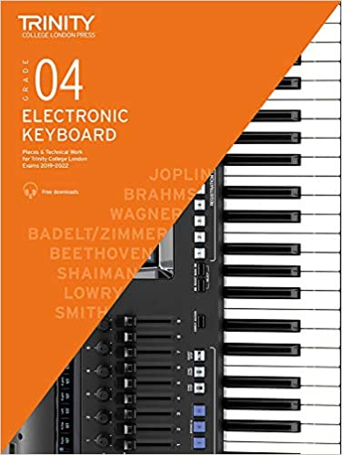 Trinity College London Electronic Keyboard Exam Pieces ...