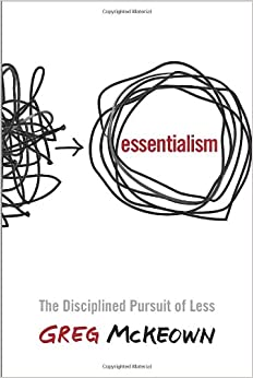 Image result for essentialism by greg mckeown