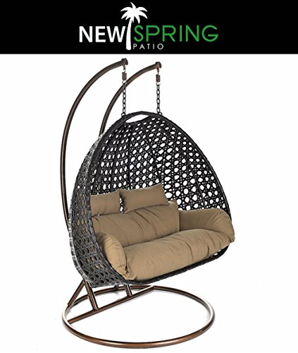 Outdoor Rattan Cushion 2 Poles 2 Pillows product image