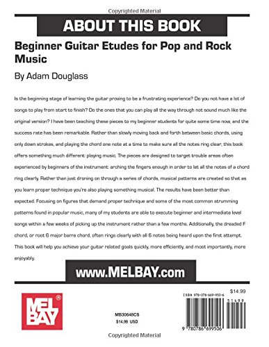 Amazon.com: Beginner Guitar Etudes for Pop and Rock Music ...