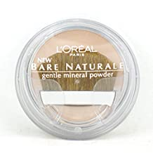 L'Oreal Paris Bare Naturale Gentle Mineral Powder, Soft Ivory 408 (Pack of 2)