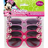 Minnie Mouse Novelty Glasses, 4ct