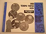 1988 Ford Tempo/ Topaz Electrical and Vacuum Trouble- Shooting Manual Revised June, 1988