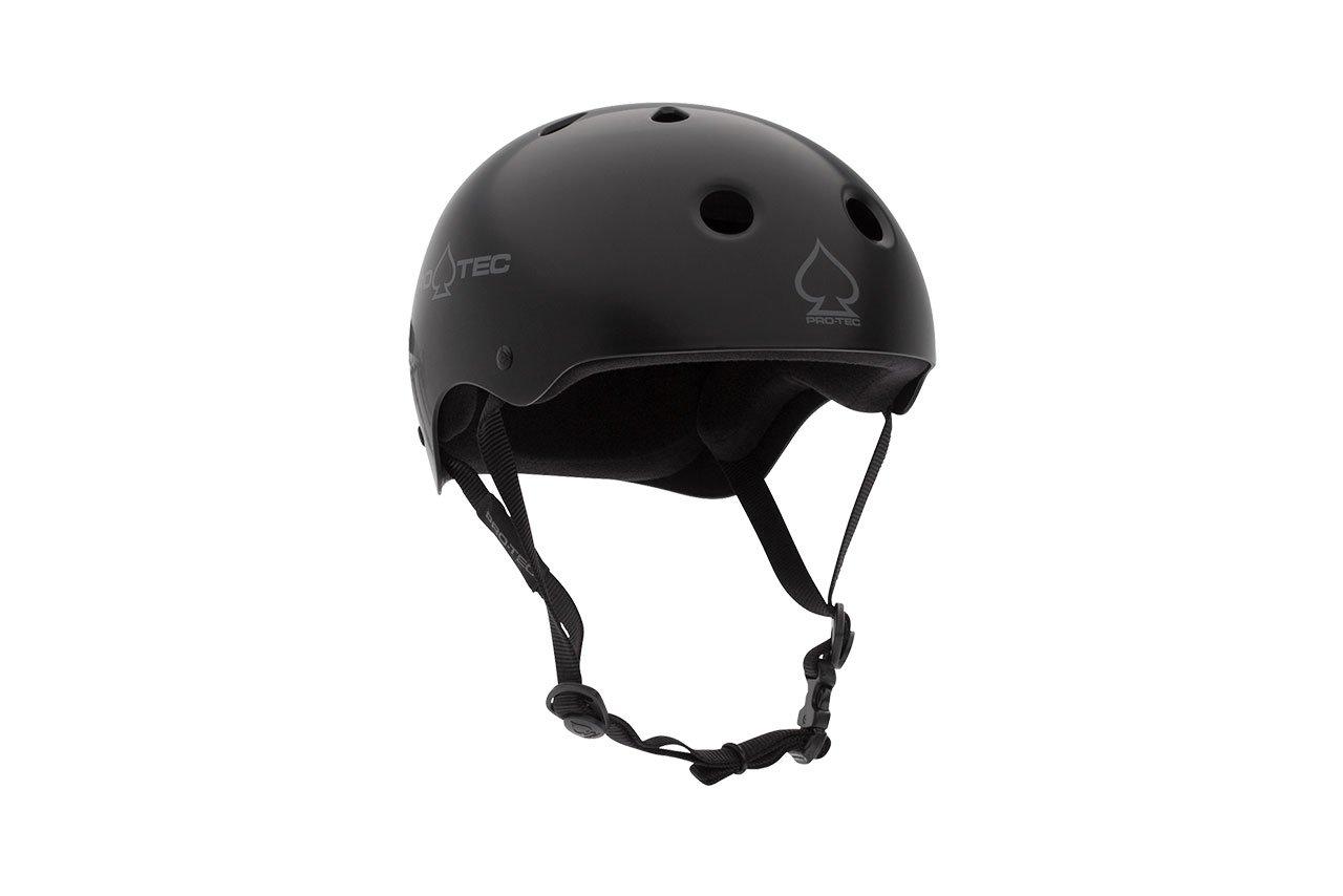 PRO-TEC(プロテック) CLASSIC SKATE(クラシックスケート) ヘルメットMATTE 黒カラー 【正規輸入品】 Sサイズ 13688 Sサイズ