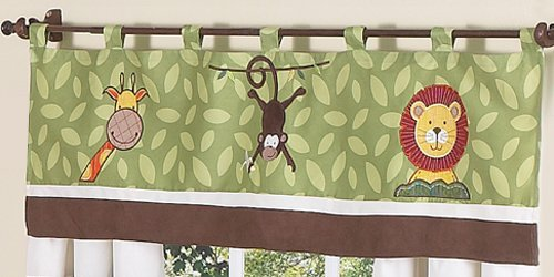 - Jungle Time Window Valance by Sweet JoJo Designs