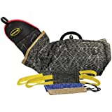 Dean & Tyler 5-Piece Professional Training Bundle Set for Dogs with 1 Intermediate Sleeve/2 Pocket Tugs/1 Small Tug/1 Medium Tug
