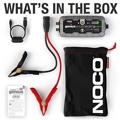 NOCO Boost UltraSafe Lithium Jump Starter