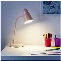 Lámpara de escritorio Ikea Fubbla, color rosa claro, 103.581.69 ...
