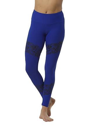 b98dd08d78 90 Degree By Reflex Color Contrast Design Leggings at Amazon Women s ...