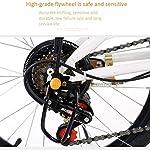 RXRENXIA-Bicicletta-Pieghevole-20-Pollici-Portatile-Pieghevole-A-Due-Ruote-Mini-Pedale-Lega-di-Alluminio-Auto-Elettrica-Telaio-Leggero-Pieghevole-Citt-Bici-Adulta-Student