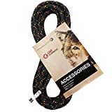 GM CLIMBING 6mm Accessory Cord Rope Double Braid Black Pre Cut CE