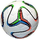 American Challenge Rio Soccer Ball (White-Aqua-Lime-Orange, Size 4)