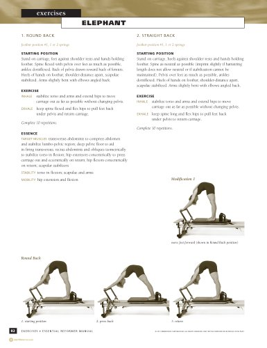 STOTT PILATES Manual - Essential Reformer, 2nd Edition (English ...