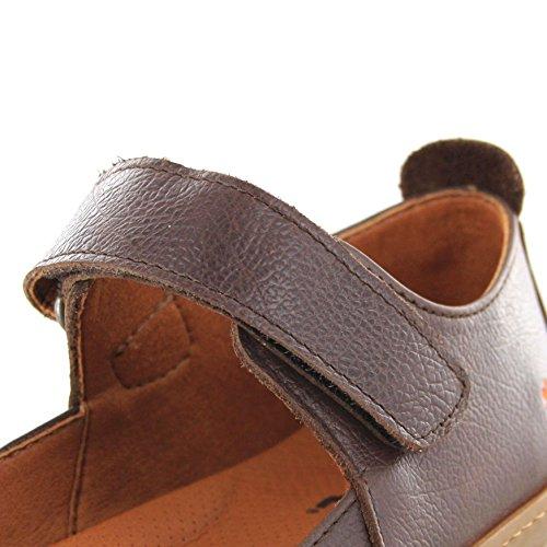 Fb Boots Fashion Donna Chiuse Scarpe Marrone 5r5gpB