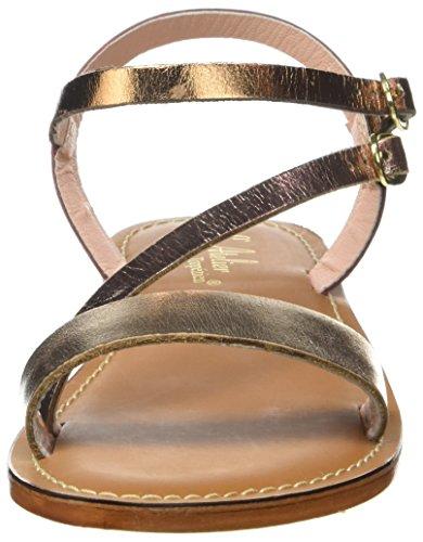 Gladiador TROPEZIEN Sandalias Gold L'ATELIER Mujer Z de Sandale Argent Multi HUPPWq6R