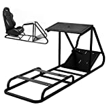Cheap VEVOR Playseat Driving Simulator Cockpit Gaming Chair with Gear Shifter Mount with Gear Shifter Mount for PS3 PS4 XBOX Chair Not Included (Black)