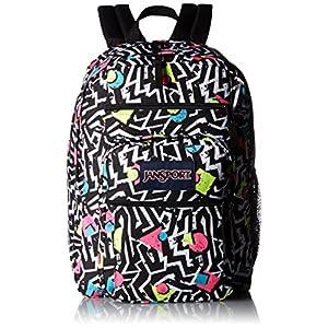 JanSport Big Student Black/White Bebop Backpack Bags
