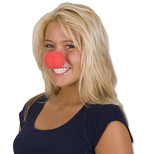 Twone Foam Clown Nose Value Pack With 24 Noses for Circus Parties, Halloween, Red Nose Day, Cosplay & More