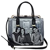 Michelle Obama Family Style Gold Detailed Tote