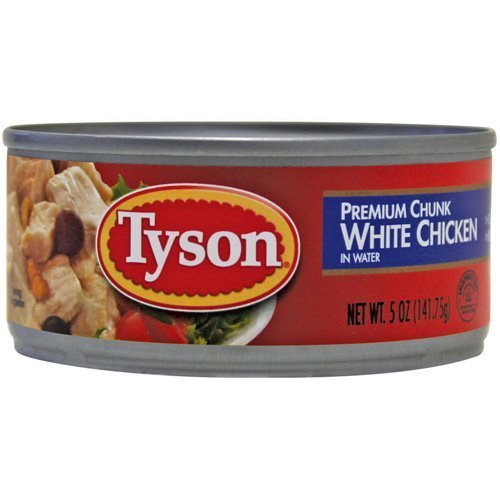 TYSON CHUNK WHITE CHICKEN PREMIUM 12 OZ CAN by TYSON At The Neighborhood Corner - Stores Corners Tysons