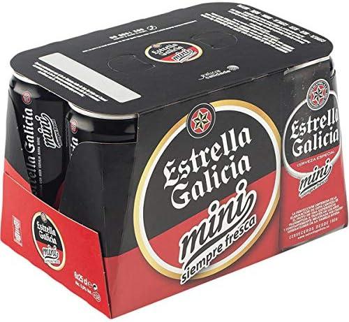 Estrella Galicia Bebida Alcoholica - 6 Paquestes de 250 ml- Total: 1500 ml: Amazon.es: Alimentación y bebidas