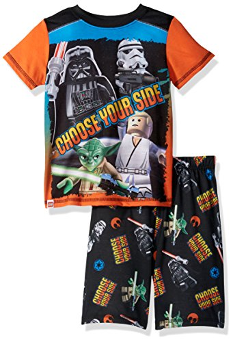 LEGO Star Wars Little Boy's Rule The Galaxy' Pajama Set, Black, 10/12 (Lego Star Wars Choose Your Side)