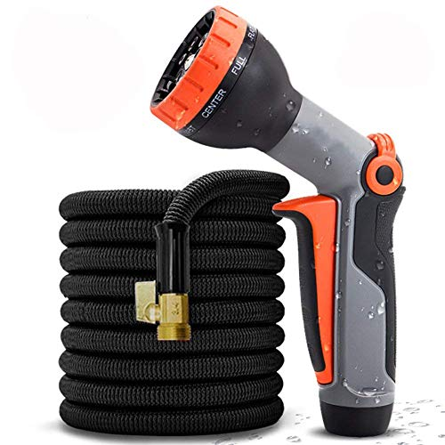 Great Garden Hose with multi-function nozzle