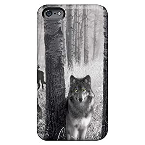 Bumper phone carrying cases Hd cover iPhone 6 4.7 - wolf spirits of the woods