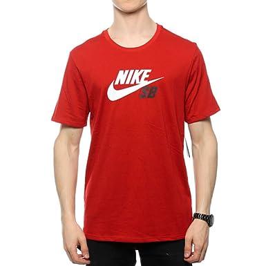 009b779816 Nike SB DF Icon Logo tee Camiseta Manga Corta, Hombre: Amazon.es: Deportes  y aire libre