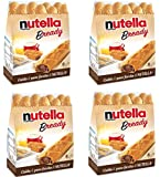 "Ferrero: ""Nutella B-ready "" a crisp wafer of bread in the form of mini - baguette stuffed with a creamy Nutella * 8 pieces * 5.39 oz (153g) * Pack of 4 [ Italian Import ]"