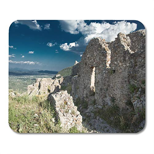 (Semtomn Mouse Pad Sparti Ancient Ruins of Sparta Laconia Greece Abbey Antique Mousepad 9.8