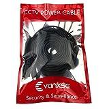 Vanxse CCTV 10m(30ft) 2.1x5.5mm Dc 12v Power