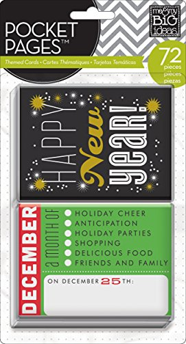 - me & my BIG ideas Pocket Pages Journaling Cards, Months of The Year