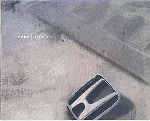 (2000 Honda Brochure Accord Civic S2000 CRV)