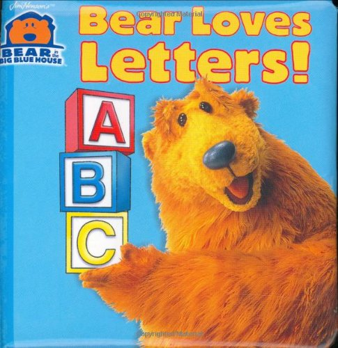 Books : Bear Loves Letters! (Bear in the Big Blue House(Hardcover))