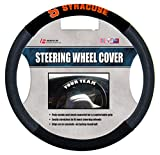 NCAA Syracuse Orange Poly-Suede Steering Wheel Cover, One Size, Orange