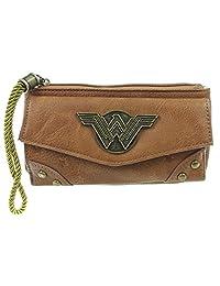DC Comics Wonder Woman Top Zip Juniors Wallet