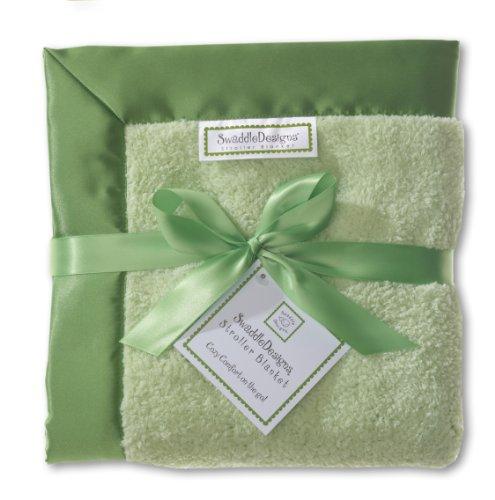 SwaddleDesigns Stroller Blanket Green Jewel
