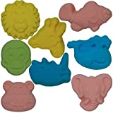 Bubble Gum Pink Zoo Animals 4 Piece Assorted 2.5 Ounce Fizzing Bath Bombs Set