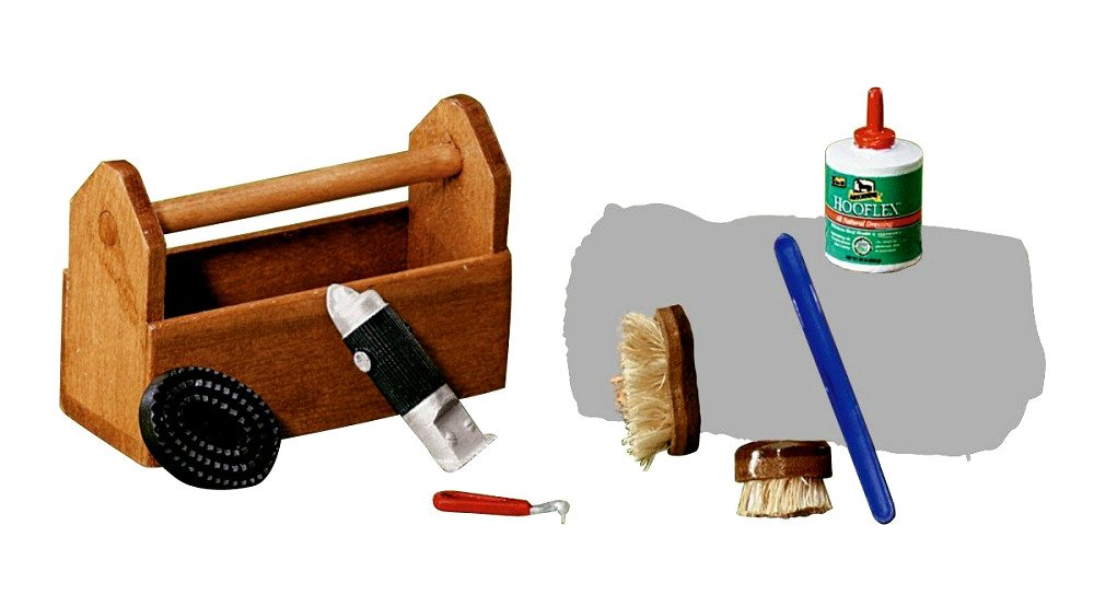 Horse Accessories Toys Traditional Grooming Kit Accessory Authentic 1/19th Scale - Skroutz Deals