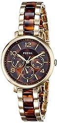 Fossil Women's ES3925 Analog Display Analog Quartz Two Tone Watch