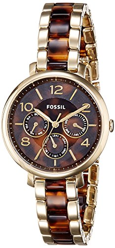 Fossil-Womens-ES3925-Analog-Display-Analog-Quartz-Two-Tone-Watch