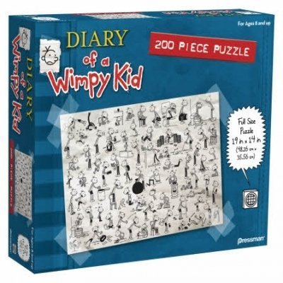 NEW Diary of a Wimpy Kid 150 Piece Puzzle